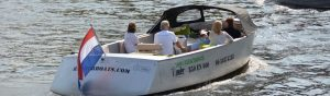 Elektrische sloep Renderboat
